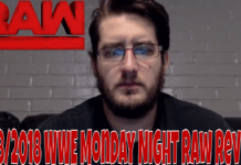 5/28/2018 WWE Monday Night Raw Video Review