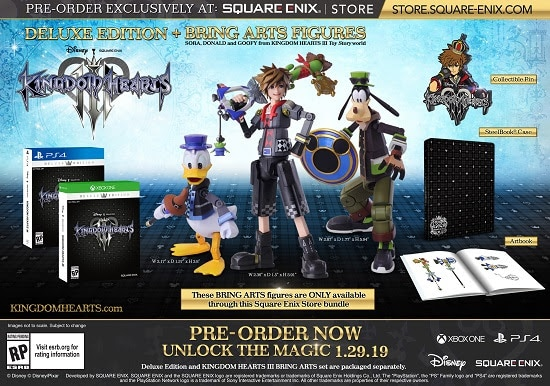 Kingdom Hearts III Deluxe Edition kingdom hearts 3 frozen - unnamed 1 - Kingdom Hearts III Set for January 29 Release
