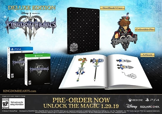 Kingdom Hearts III Deluxe Edition kingdom hearts 3 frozen - unnamed - Kingdom Hearts III Set for January 29 Release