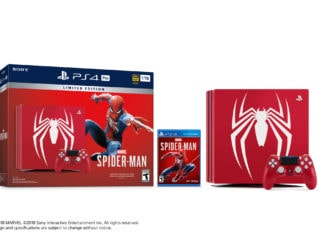 Limited Edition Spider-Man PS4