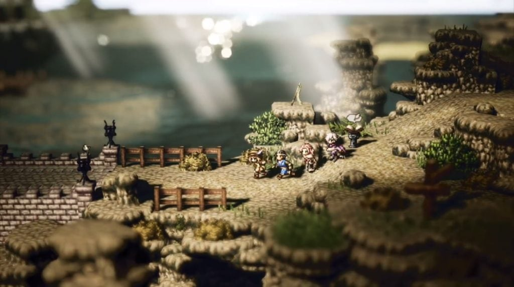 Octopath Traveler Overworld