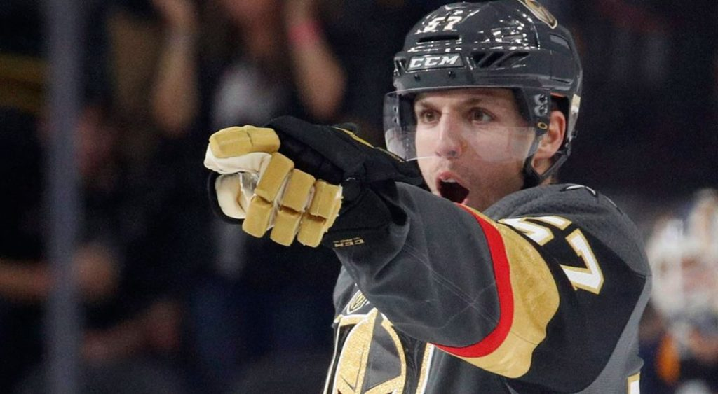 David Perron blues sign tyler bozak - perron david vegas 1040x572 1024x563 - St. Louis Blues Sign David Perron & Tyler Bozak