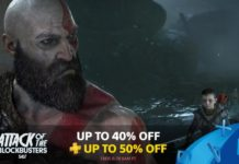 PlayStation Attack of the Blockbusters Sale