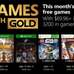 Septmber 2018 Games With Gold