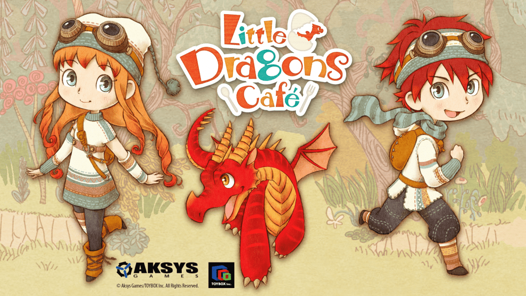 Little Dragons Cafe Title