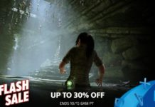 October 2018 PlayStation Store Flash Sale
