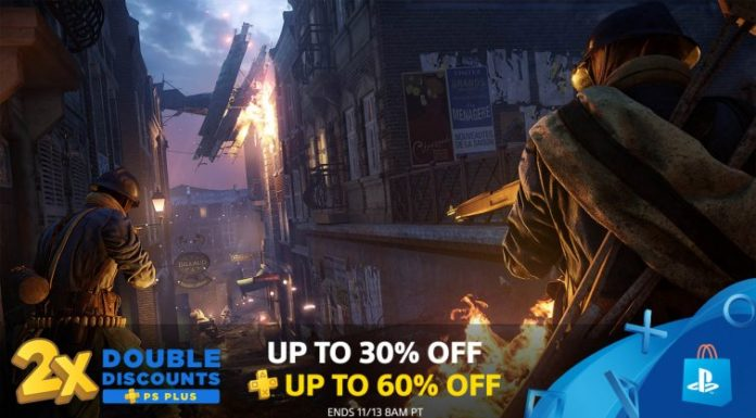 PlayStation Plus Double Discounts October 2018