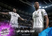 2018 PlayStation Store Black Friday Sale