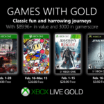 February 2019 Games With Gold