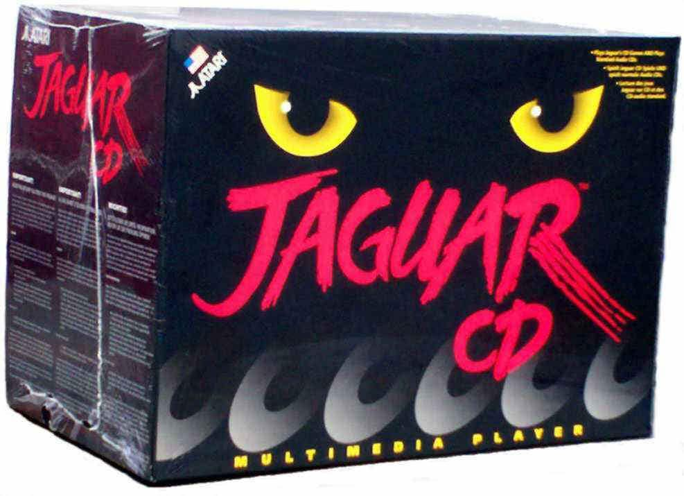 Atari Jaguar CD Box