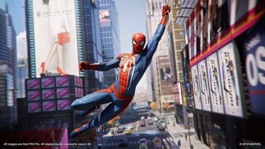 Spider-Man Times Square
