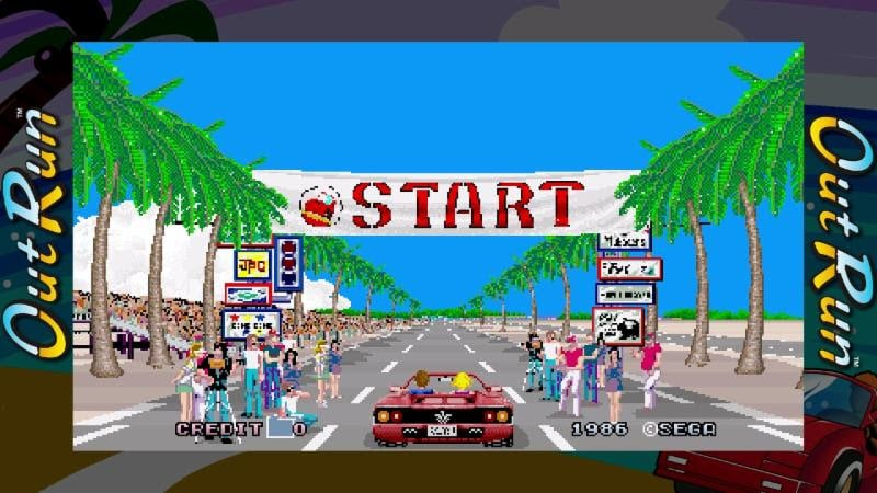 Out Run SEGA AGES