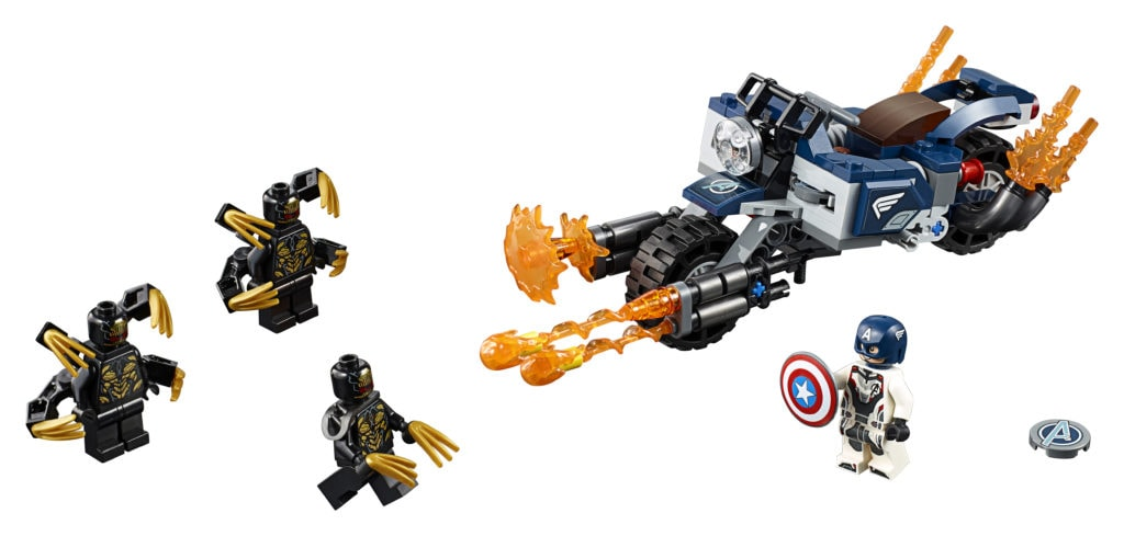 LEGO Marvel Super Heroes Captain America: Outriders Attack
