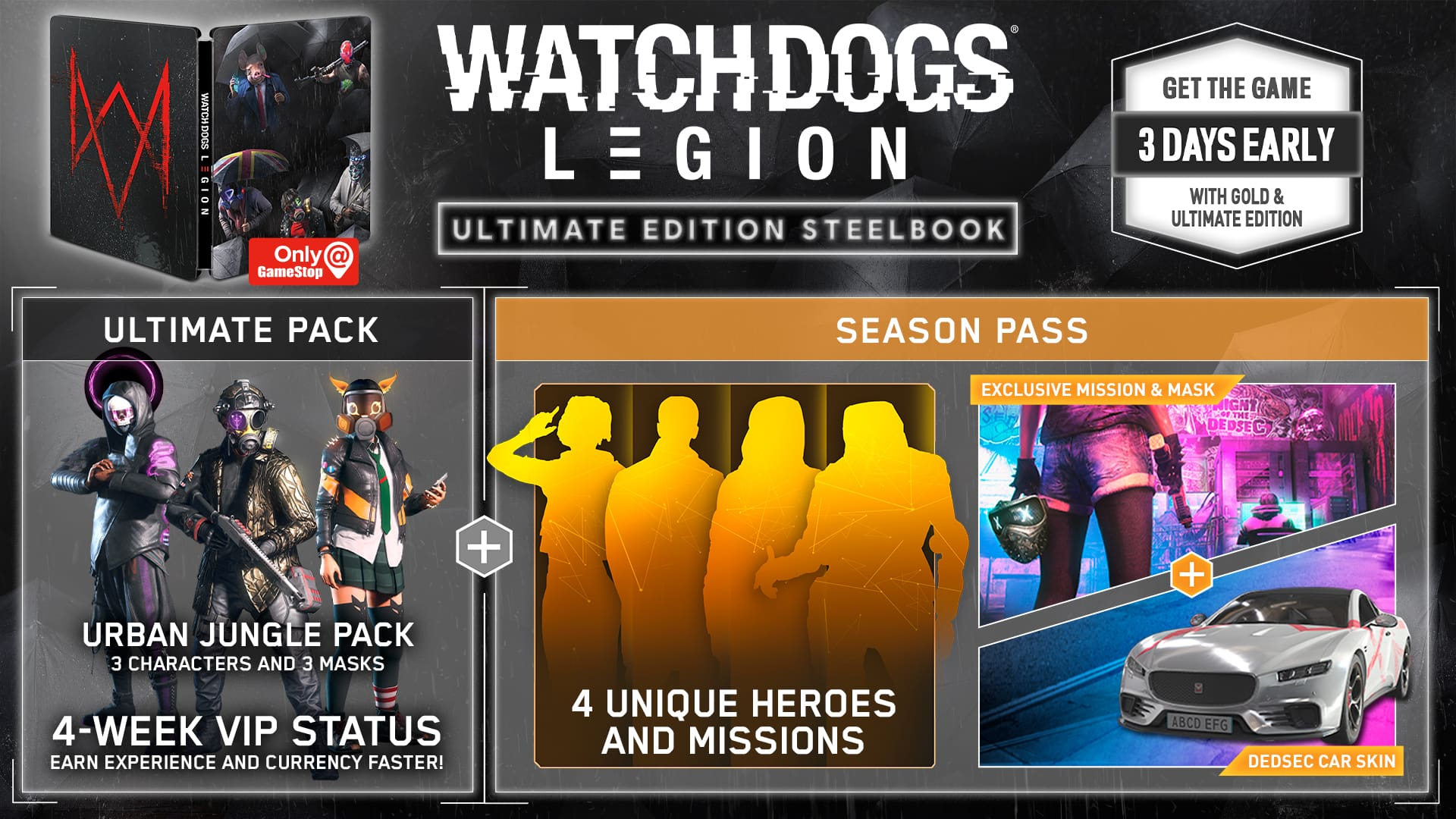 Ubisoft Announces Watch Dogs Legion Find Your Inner Geek