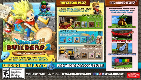 DQB2 Special Editions