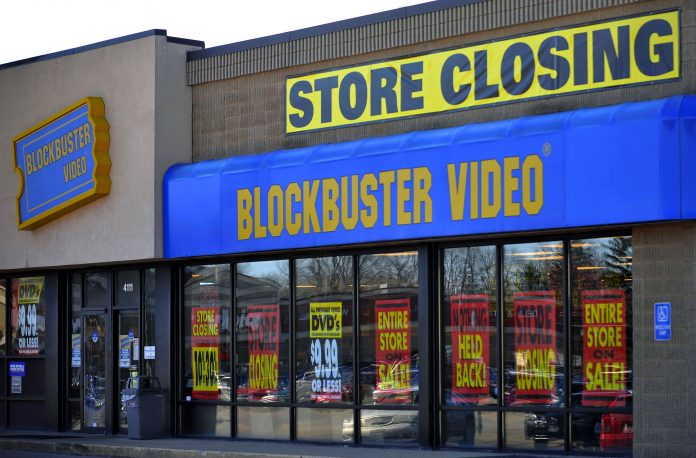 Blockbuster Closing