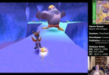 Spyro Ice Cavern