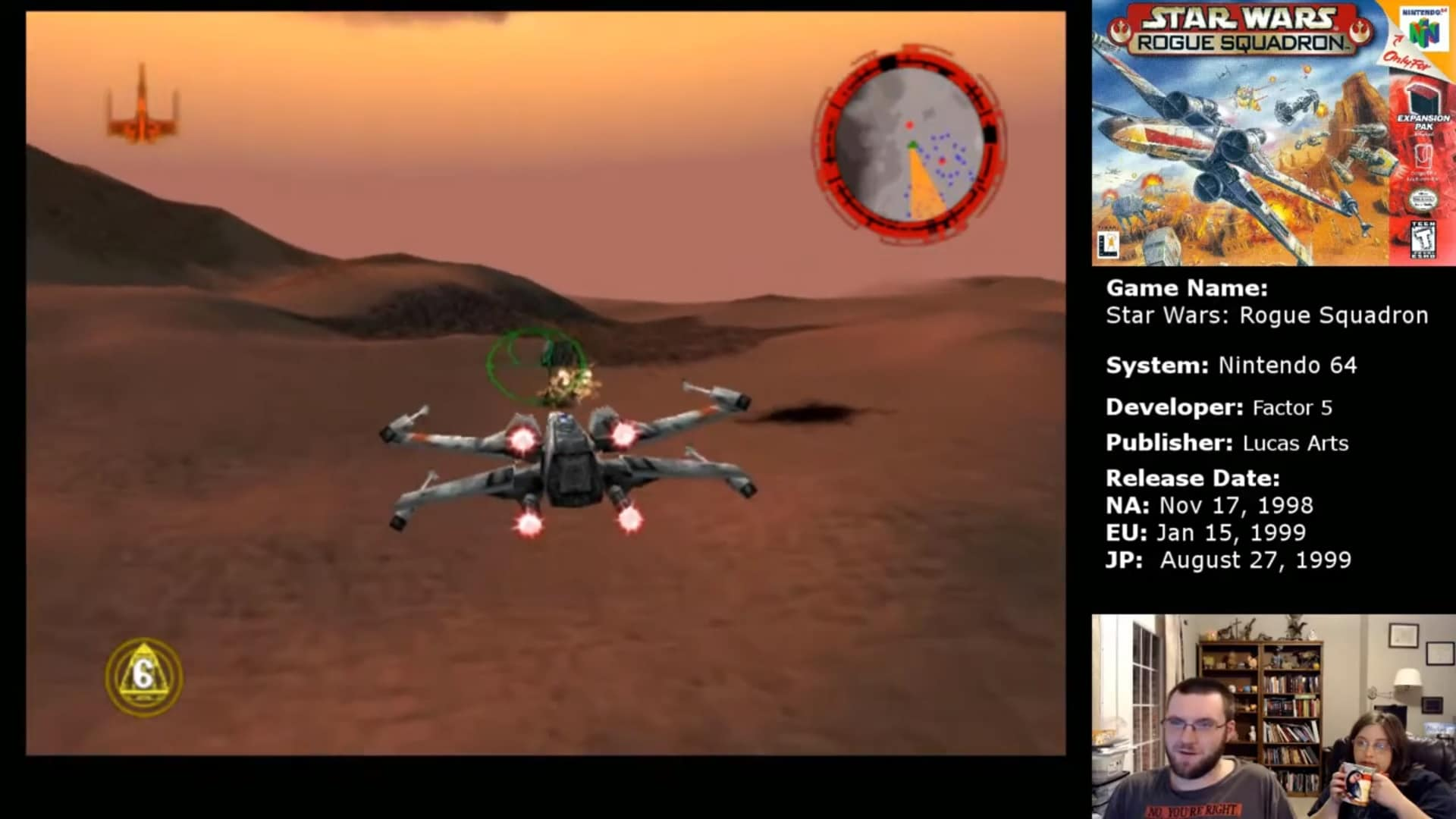 Fyig Plays Star Wars Rogue Squadron Part 5 Liberation Of Gerrard V Find Your Inner Geek