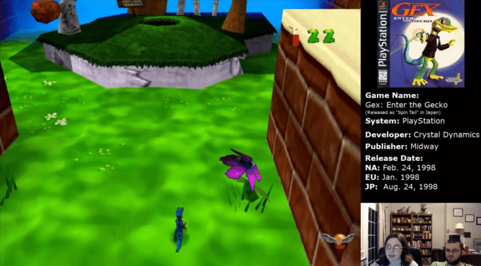 Gex Enter The Gecko Out of Toon