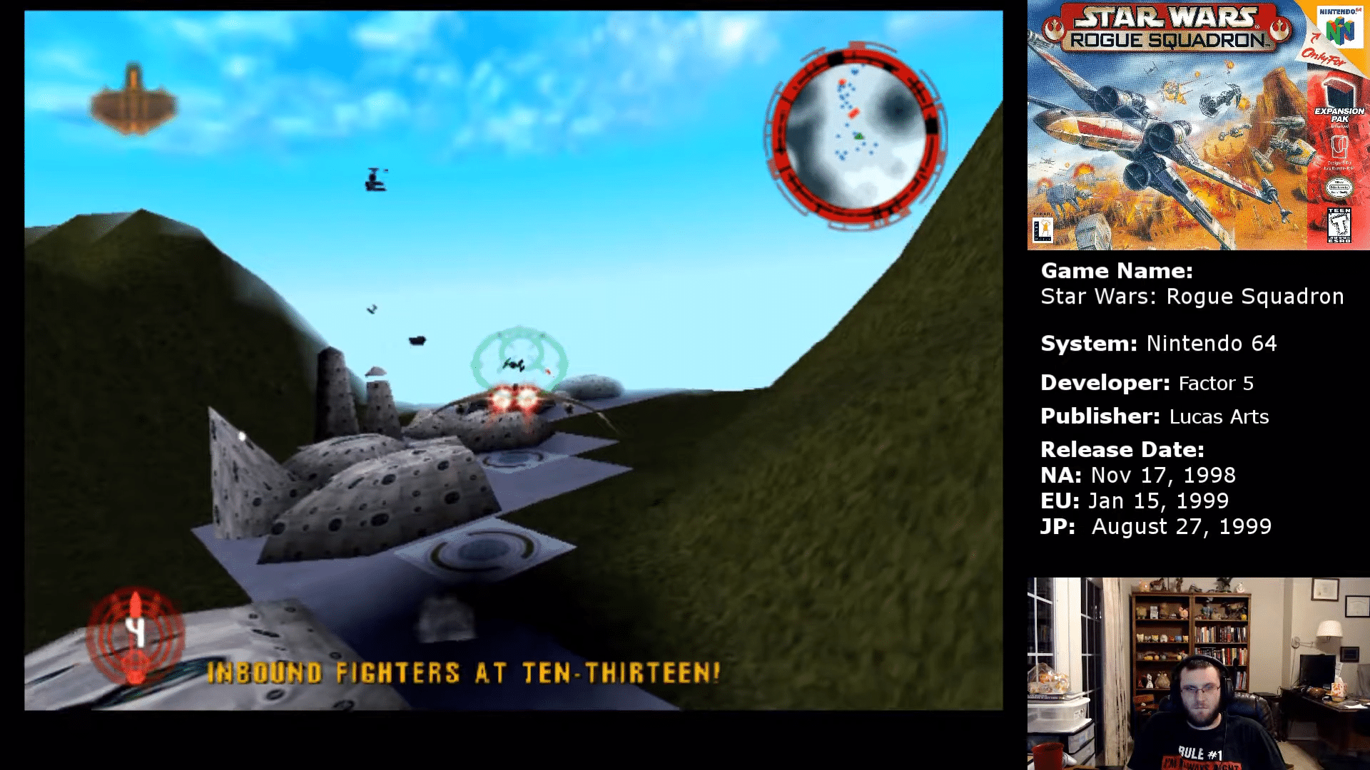 Fyig Plays Star Wars Rogue Squadron Part 16 The Battle Of Calamari Find Your Inner Geek