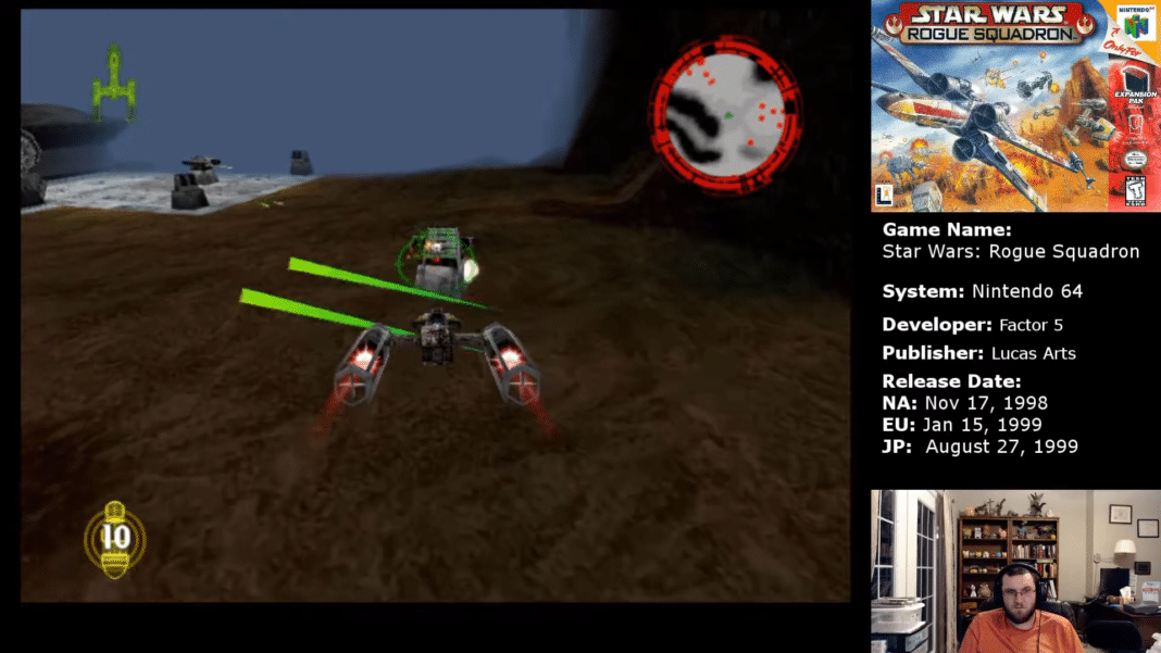 Star Wars Rogue Squadron Assault on Kile II