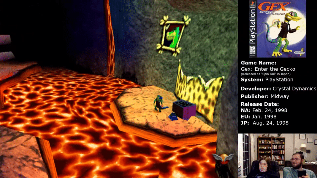 Gex The Old Cave