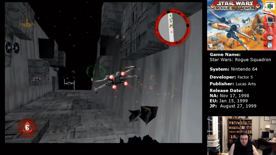 The Death Star Trench Run