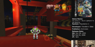 Toy Story 2 Construction Yard