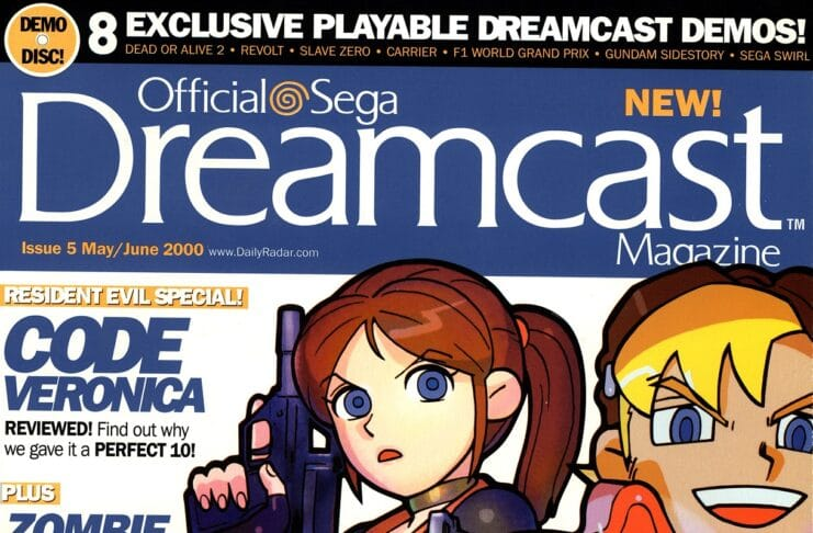 Official SEGA Dreamcast Issue #5 May 2000